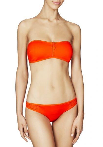 Stella McCartney Neoprene Mesh Bikini Dahlia
