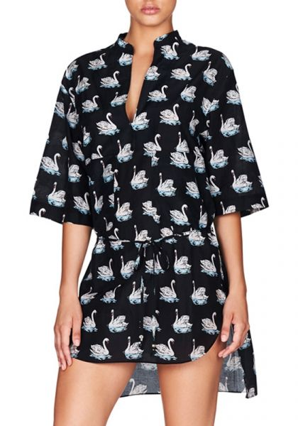 stella Mccartney Iconic Swan Print Tunic