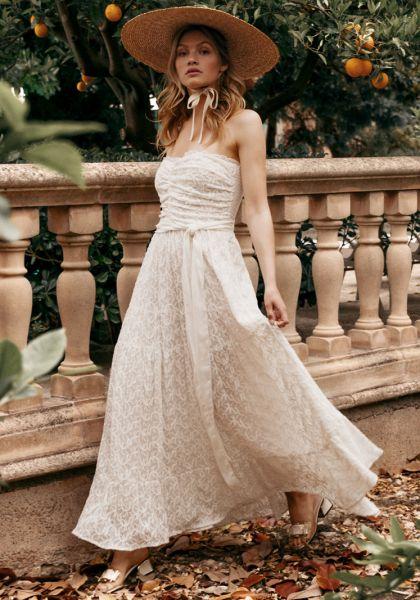 Sundress Amelia Dress Off White