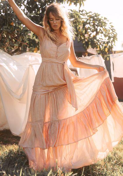 Sundress Calypso Maxi Dress
