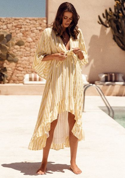 Sundress Juliana Dress Lemon