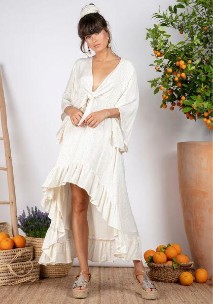 Sundress Juliana Long Dress St Barth Coconut