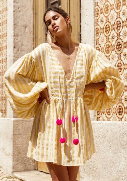 Sundress Monroe Dress Lemon