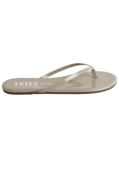 Tkees Glosses Sandals Custard