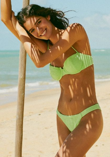 Vix Swimwear Lime Nissi Dune Bikini