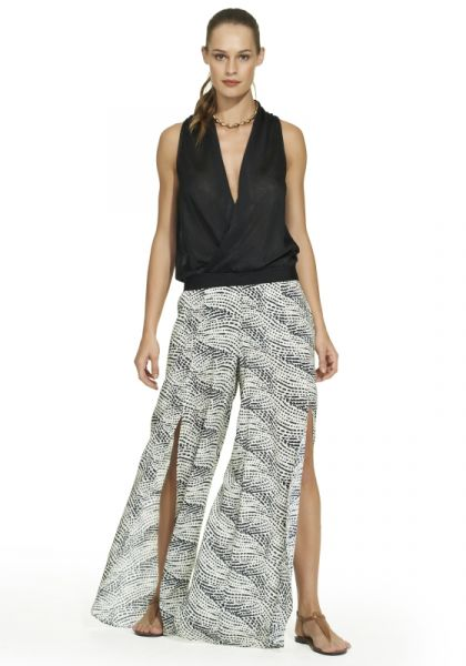 Vix Pearl Black Berry Pants