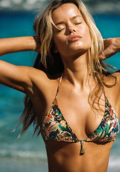 WaterCult Hawaii Kitsch Triangle Bikini