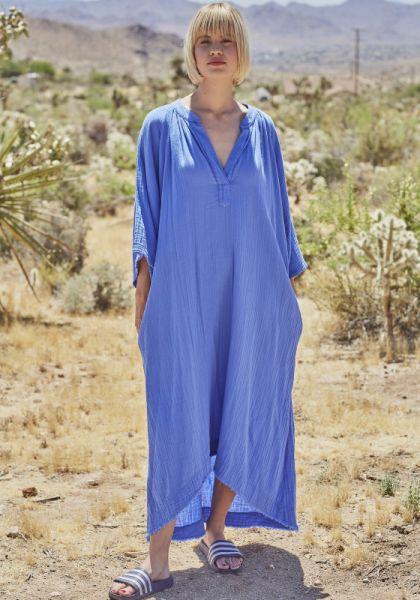 Tangier Kaftan Moroccan Blue