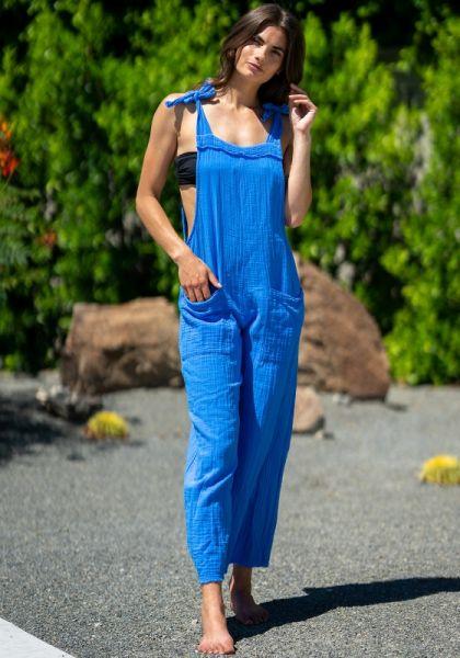 9Seed Latigo jumpsuit Blue