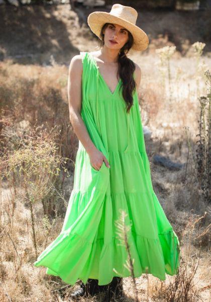 Light House Beach Dress Grass