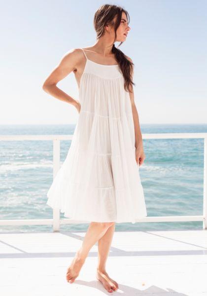 Mariposa Dress White