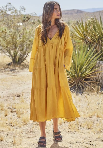 Majorca Kaftan Honey