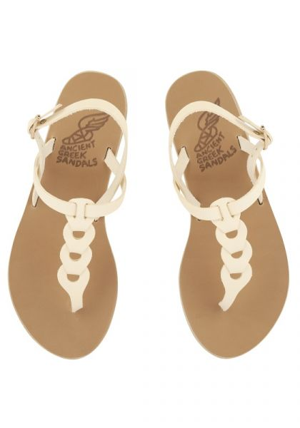 Ancient Greek Lito Sandals Off White