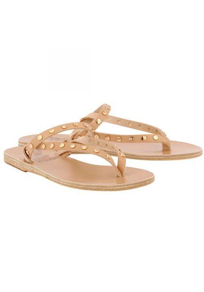 Ancient Greek Sandals Mirsini Sandals Natural