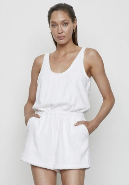 Atoir Juliet Playsuit White