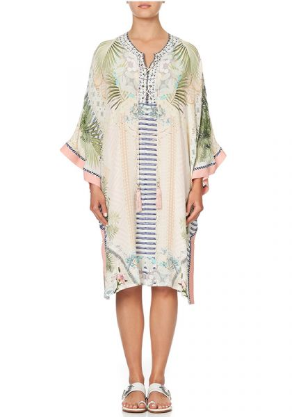 Camilla Lace Up Kaftan Beachsha