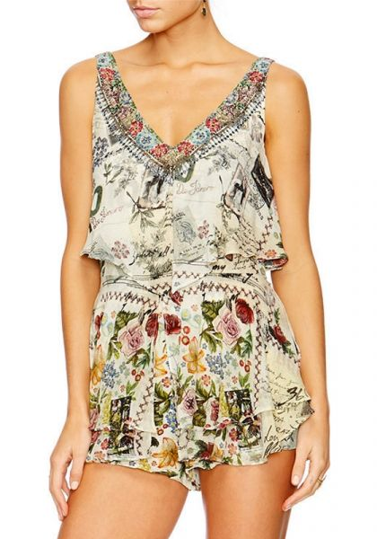 Camilla Memory Lane Playsuit