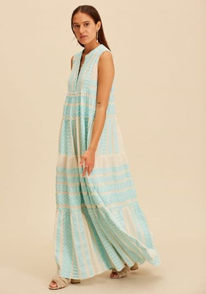 Long Ella Dress Pale Blue