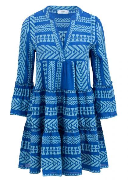 Devotion Ella Dress Blue with Pale Blue