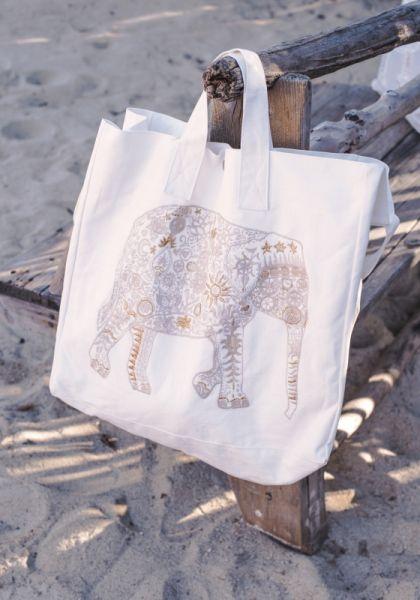 Elizabeth Scarlett Ellyphant Beach Bag