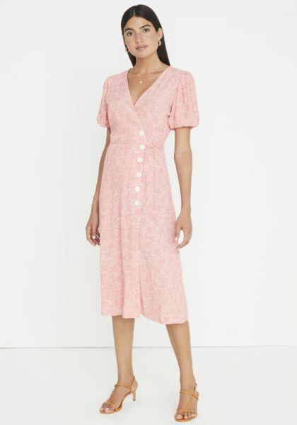 Faithfull The Brand Fran Midi Dress Maurie Floral Print