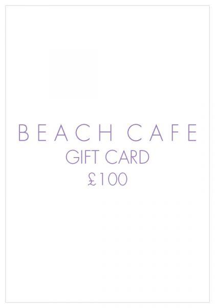 Beach Cafe Gift Card £100