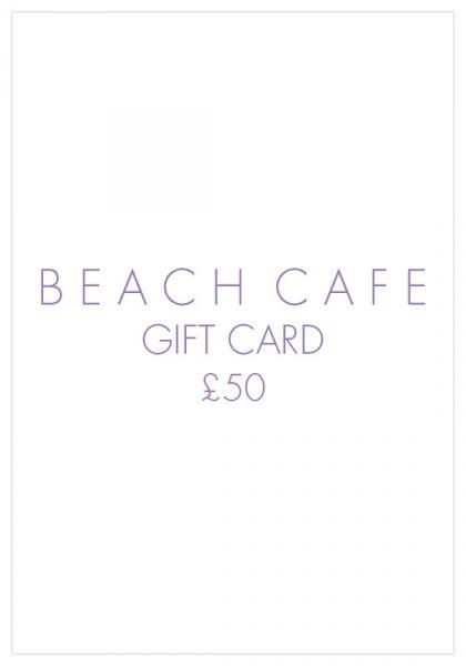 Beach Cafe Gift Card £50