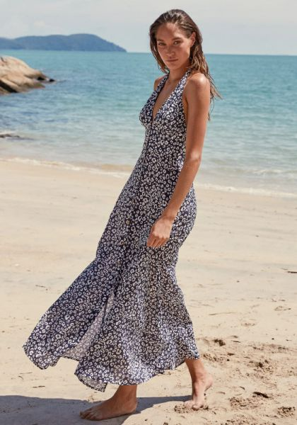 Tanzania Halterneck Maxi Dress