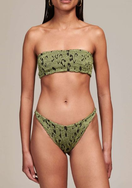 Hunza G Gabrielle Bikini Moss Leopard