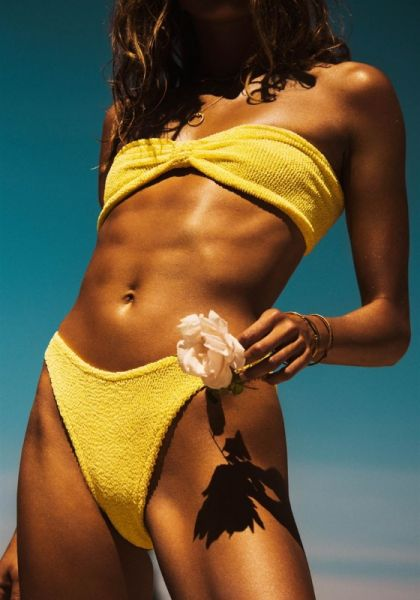 Hunza G Jean Bikini Lemon