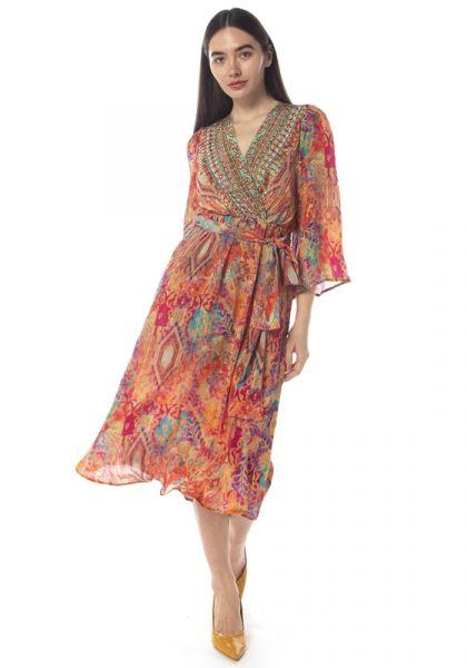Inoa Modena Bell Sleeve Dress