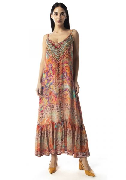 Inoa Modena Frill Strappy Dress