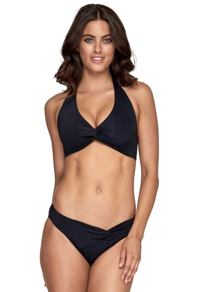 JETS Jetset Twist Front Bikini Black