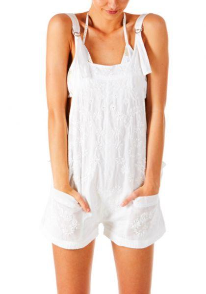 Cotton Dungareenies White