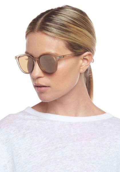 Le Specs Bandwagon Sunglasses Matte Stone