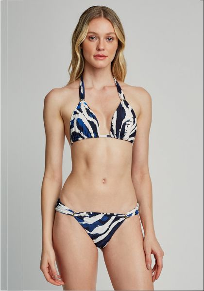 Lenny Niemeyer Adjustable Halter Bikini Araguaia