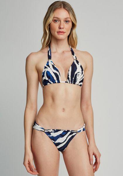 Lenny Niemeyer Adjustable Halter Bikini Araguaia