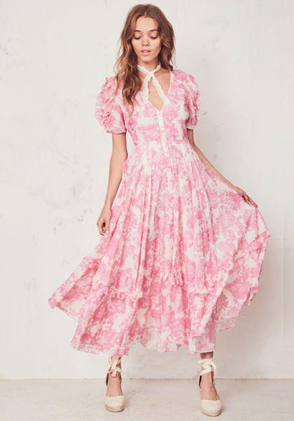 Andie Dress Pink