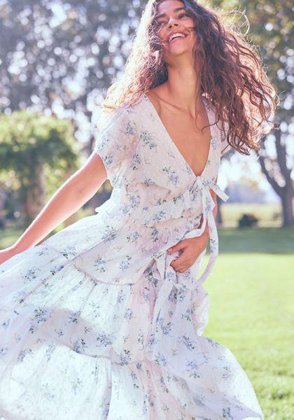 Carlton Dress White