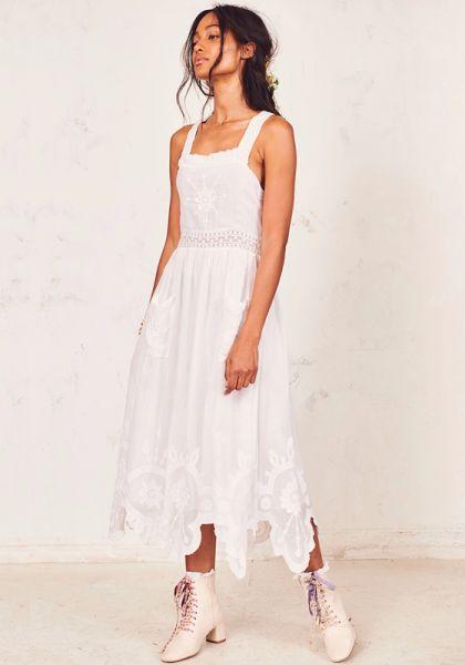 RAVEN DRESS WHITE