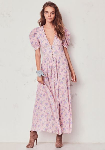 LoveShackFancy Stacy Duster Dress
