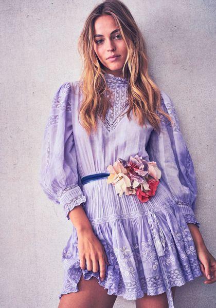 Viola Dress Lavender