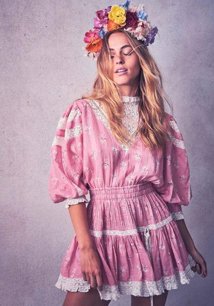 Viola Dress Pink