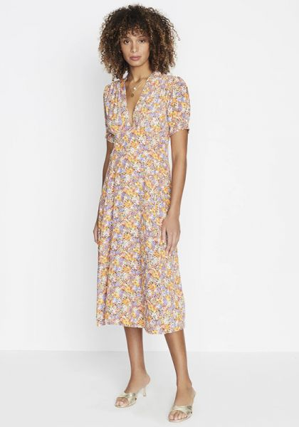 Faithfull The Brand Meadows Midi Dress Meja Floral