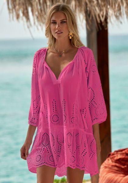 Melissa odabash Ashley Dress Flamingo