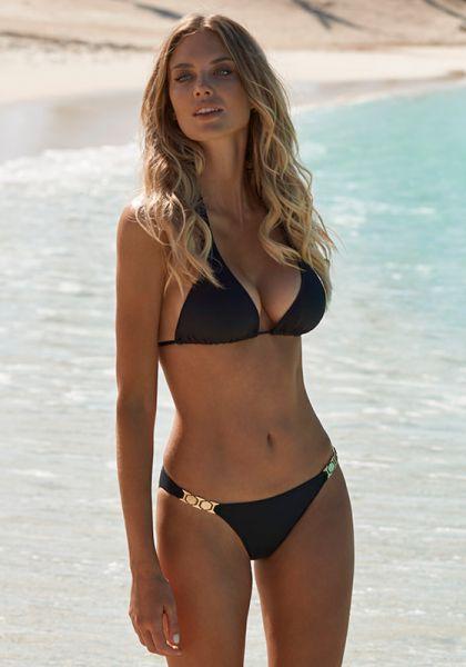 Melissa Odabash Athens Bikini Black