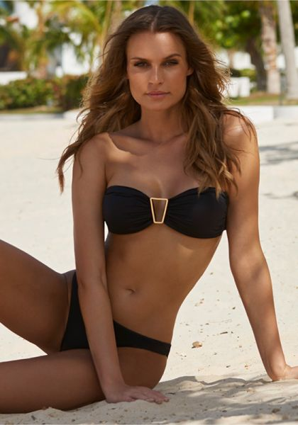 Melissa Odabash Barcelona Bikini Black