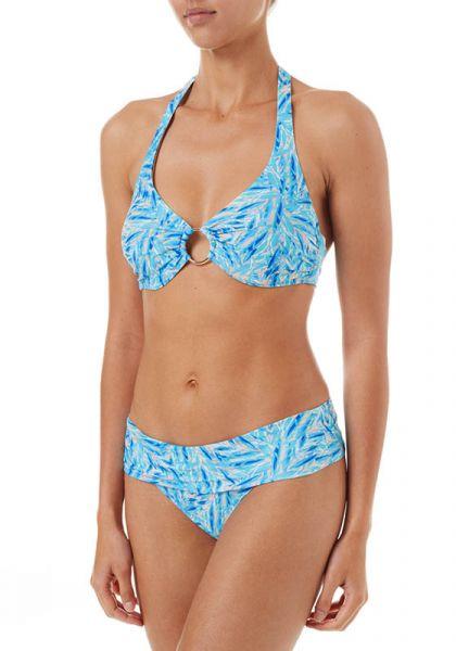 Brussels Bikini Blue Leaf