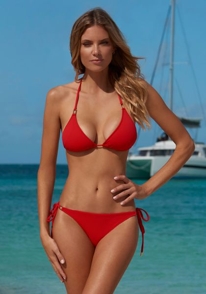 Melissa Odabash Cancun Bikini Red