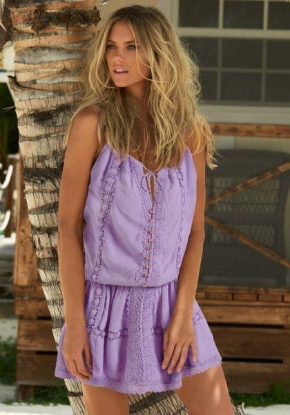 Melissa Odabash Chelsea Dress Lilac